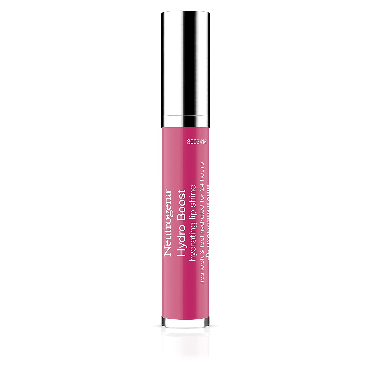 Neutrogena Hydro Boost Hydrating Lip Shine, 60 Vibrant Raspberry Color 0.10 Oz