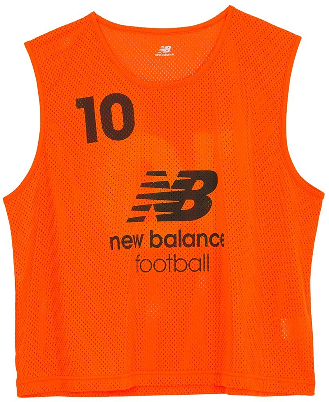 newbalance(ニューバランス) ビブス10枚セット JMTF6191 (FLO(蛍光オレンジ)) B01H1SM11Y