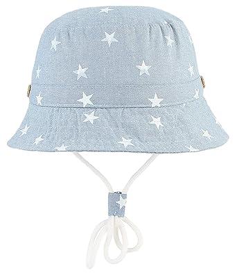 3e30249c7f7 Cloud Kids Chapeau Bob Bébé Enfant Chapeau de Soleil Unisexe en Coton  Pliable Protection Anti-