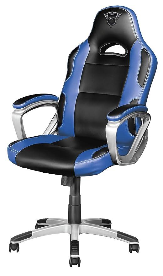 Trust Gaming - Silla para Juegos GXT 705B, Color Azul