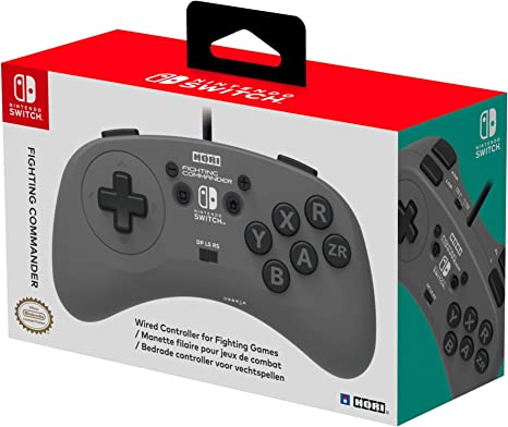 HORI - Fighting Commander (Nintendo Switch): Amazon.es: Videojuegos
