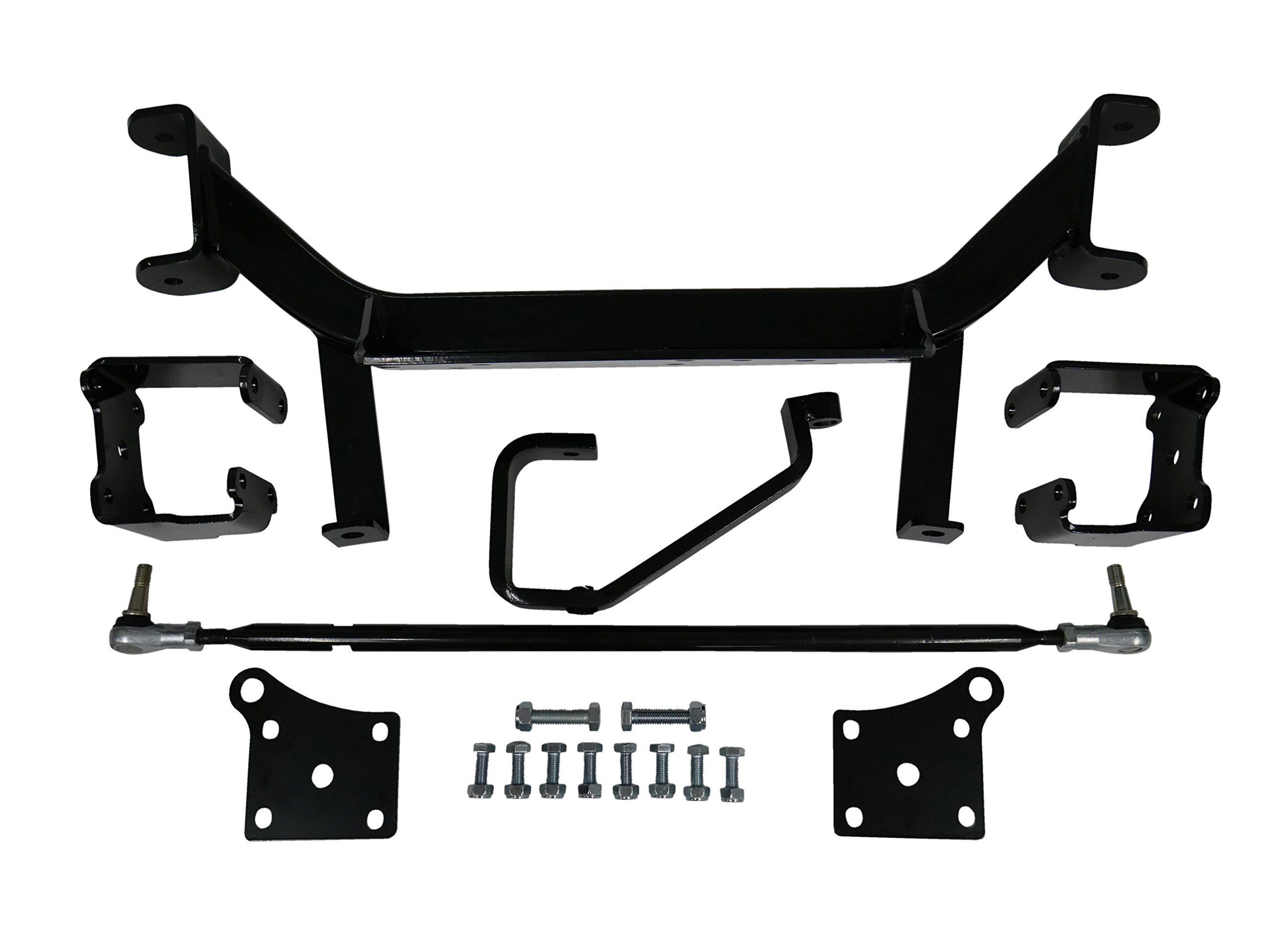 Freedom Offroad Powersports 6'' Drop Axle Lift Kit for EZGO Golf Cart 2001.5-2013 Electric TXT