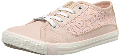 Mustang 5803-306, Mädchen Sneakers, Rosa (555 Rose), 32 EU