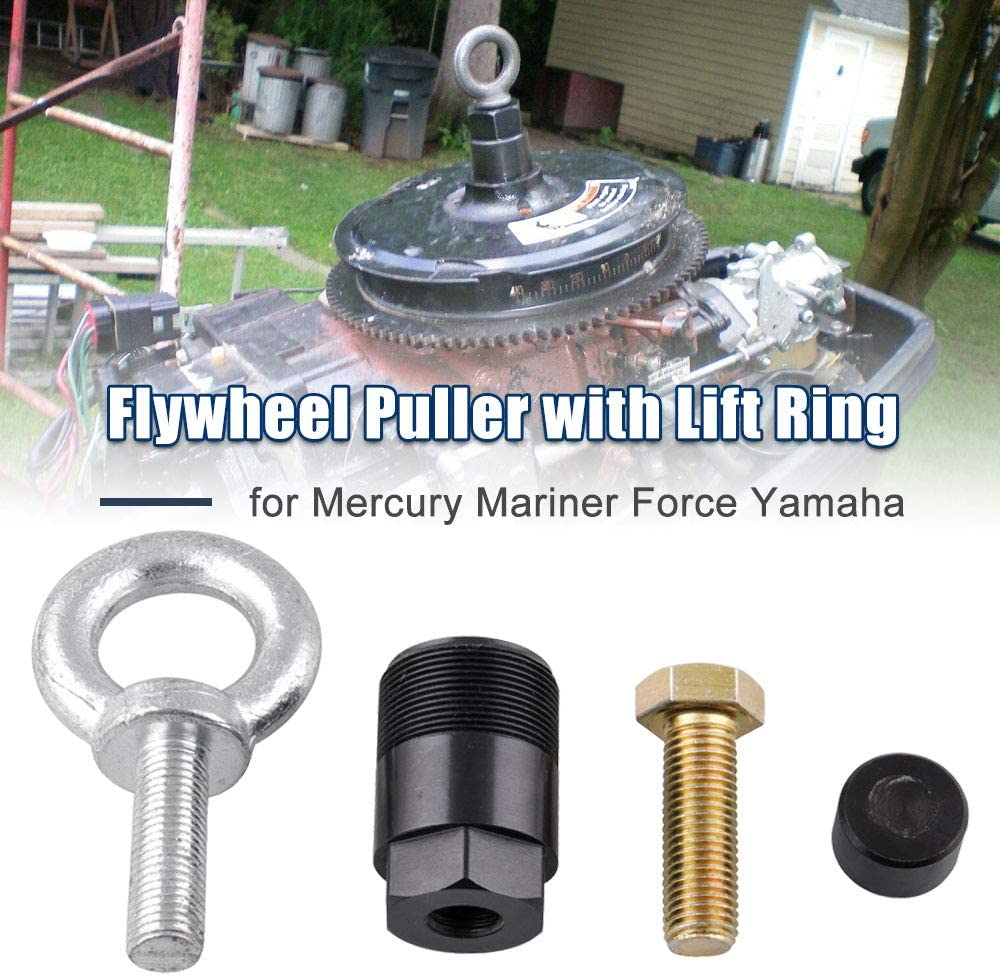 """Sporacingrts Outboard1 1/2"""" -16 Flywheel Puller Removal Tool 91-849154T1 for Mercury Mariner Force Yamaha"""
