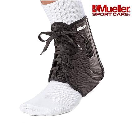 Mueller ATF 2 tobillo brace apoyo férula para estabilizador para dolor en las articulaciones, Fisioterapia