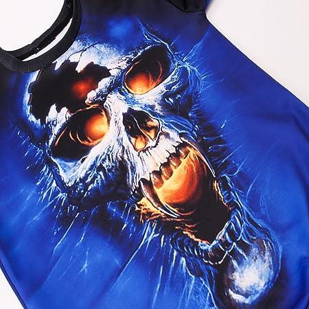 Hombre blusa manga larga estampado Otoño,Sonnena ❤ Blusa de manga larga para hombre de moda Sudadera O-Neck con 3D Impreso Tops Causal Blusa: Amazon.es: ...