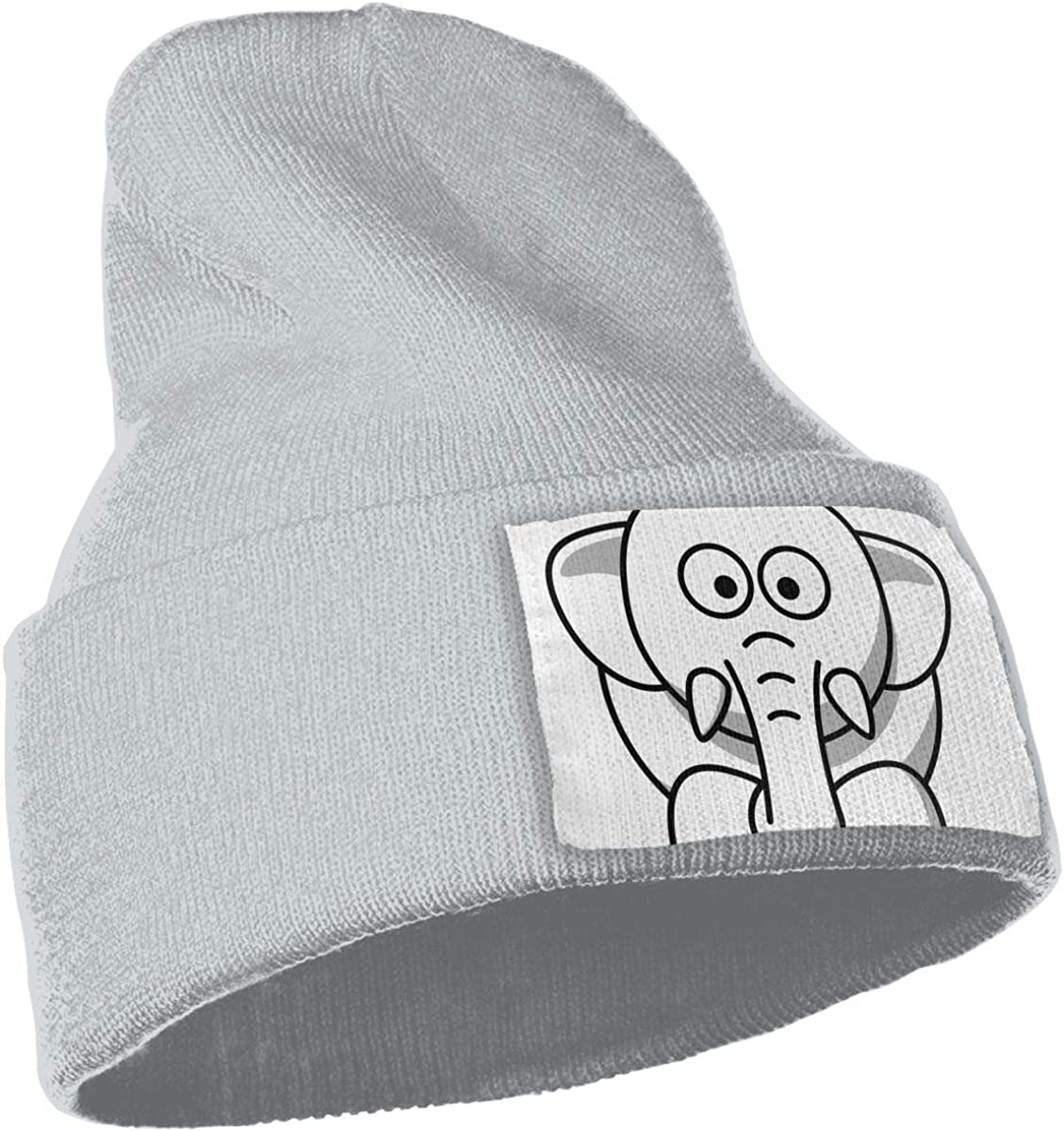 Clip Art Animal Pictures Unisex Fashion Knitted Hat Luxury Hip-Hop Cap