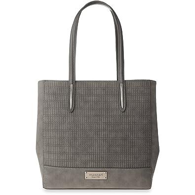 Nubuk Handtasche Monnari elegante Shopper Tasche Damentasche - Graphit Monnari bTuvjItt