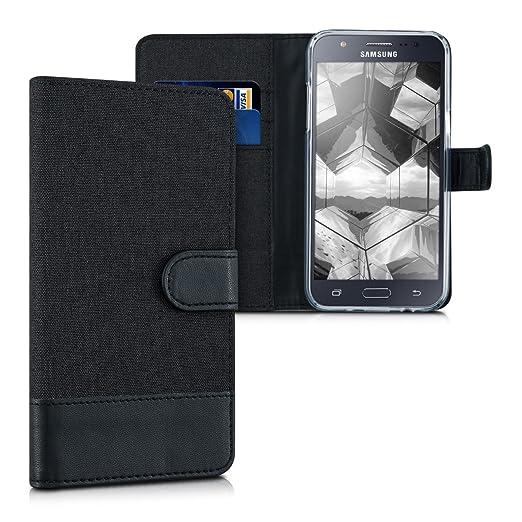 13 opinioni per kwmobile Custodia portafoglio per Samsung Galaxy J5 (2015)- Cover in simil pelle