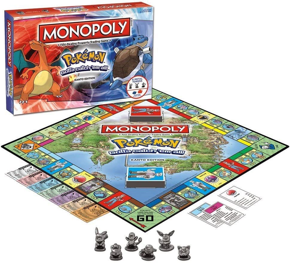 Pokemon Monopoly Board Game by BBCW: Amazon.es: Juguetes y juegos