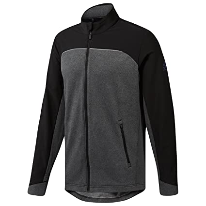 d71f9a8358185 Amazon.com : adidas Golf 2019 Go-to Full Zip Mens Water Resistant ...
