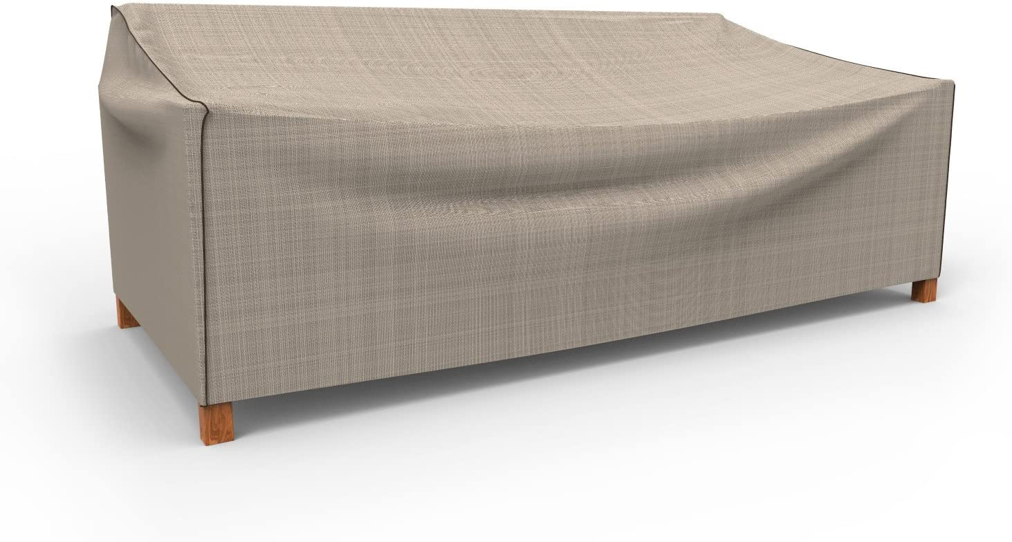Budge P3A02PM1 English Garden Patio Sofa Cover, Extra Extra Large, Two-Tone Tan