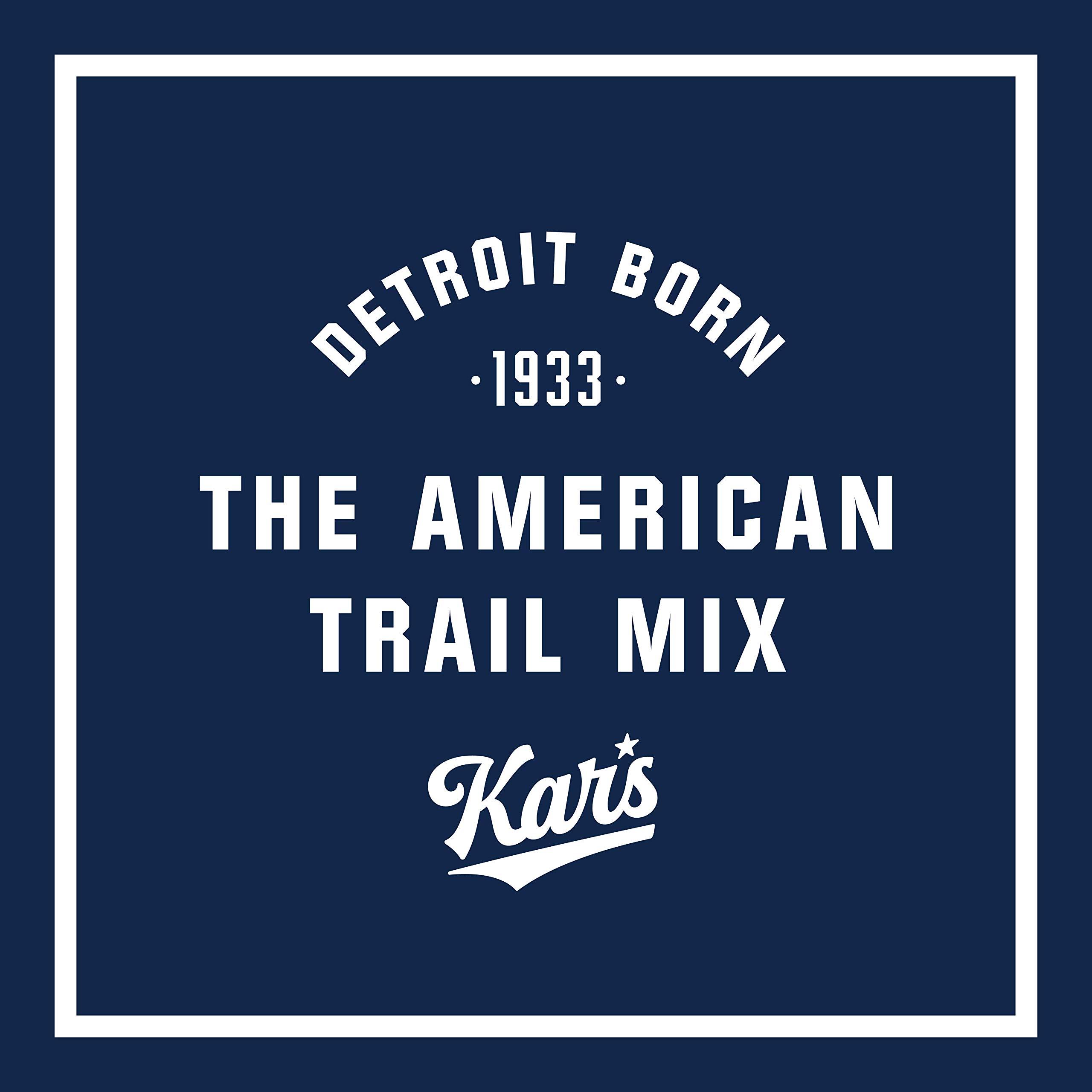 Kar's Nuts Sweet 'N Salty Trail Mix Snacks - High Protein Blend of Peanuts, Sunflower Kernels, Raisins & Chocolate Gems - Bulk Pack of 2.5 oz Individual Single Serve Bags (Pack of 36)
