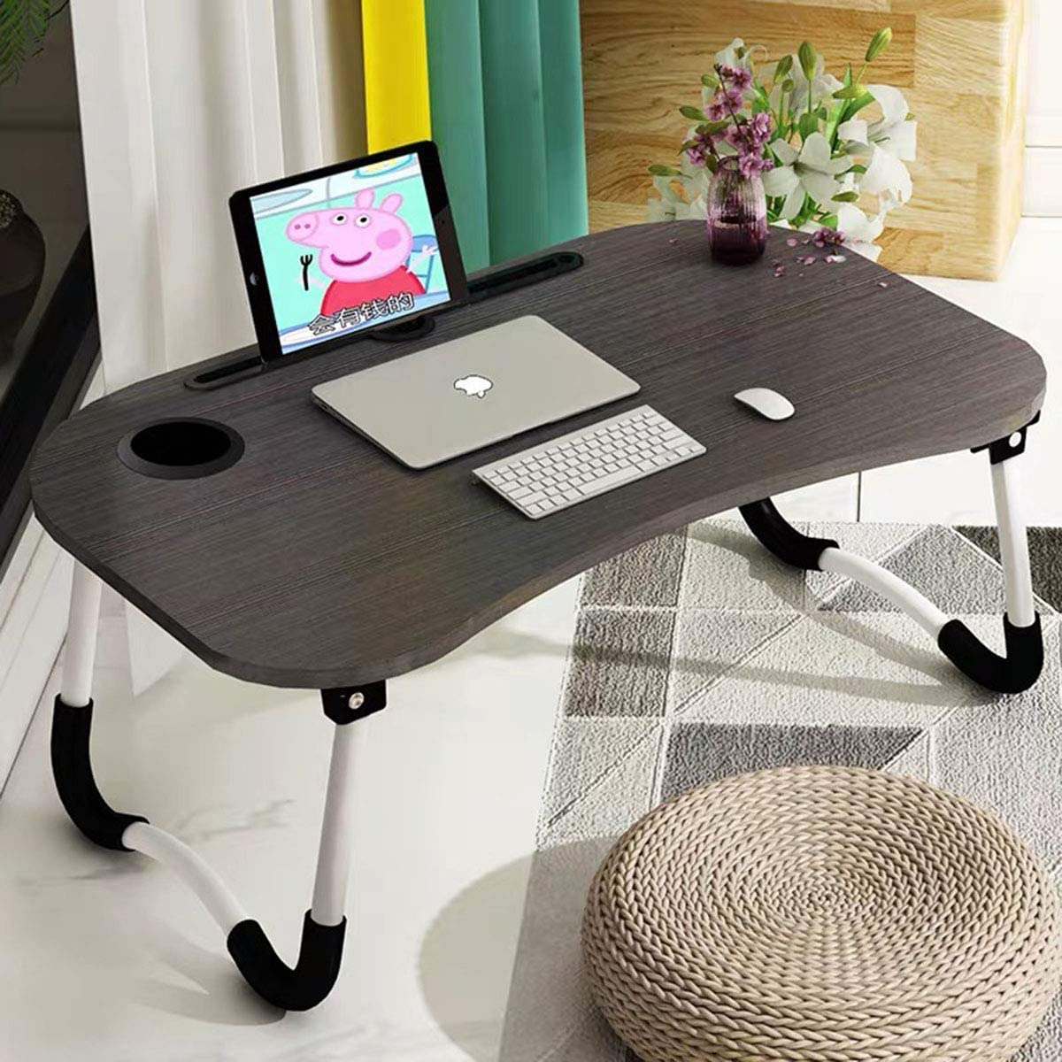 - Barbieya Notebook Table Dorm Desk, Dormitory With Small Desk, Bed
