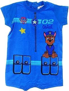PAW Patrol Shirt Baby T-Shirt Kurzarm Blau 68 74 80 86 Sommer Shirts