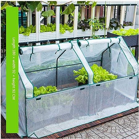 YILANJUN Garden Invernadero con Marco de Acero, para Jardín Patio Caseta: Amazon.es: Hogar