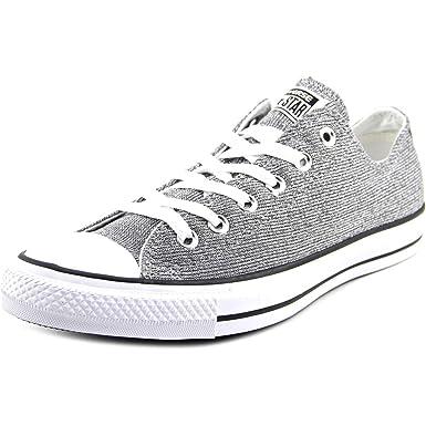 31c93a45de98c1 Converse Chuck Taylor All Star Sparkle Silver White 549679F Women s ...
