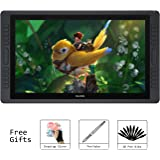 Huion KAMVAS GT-221 Pro 21.5 inch HD Pen Display Tablet Monitor Graphics Drawing Monitor with 8192 Pen Pressure and 10 Shortcut Keys 1 Touch Bar on Each Side of the Monitor