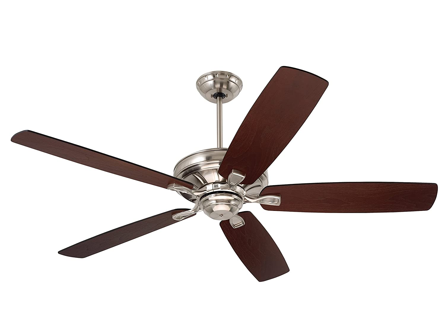 Com Emerson Ceiling Fans Cf784bs Carrera 60 Inch Indoor Fan Light Kit Adaptable Brushed Steel Finish Home Improvement