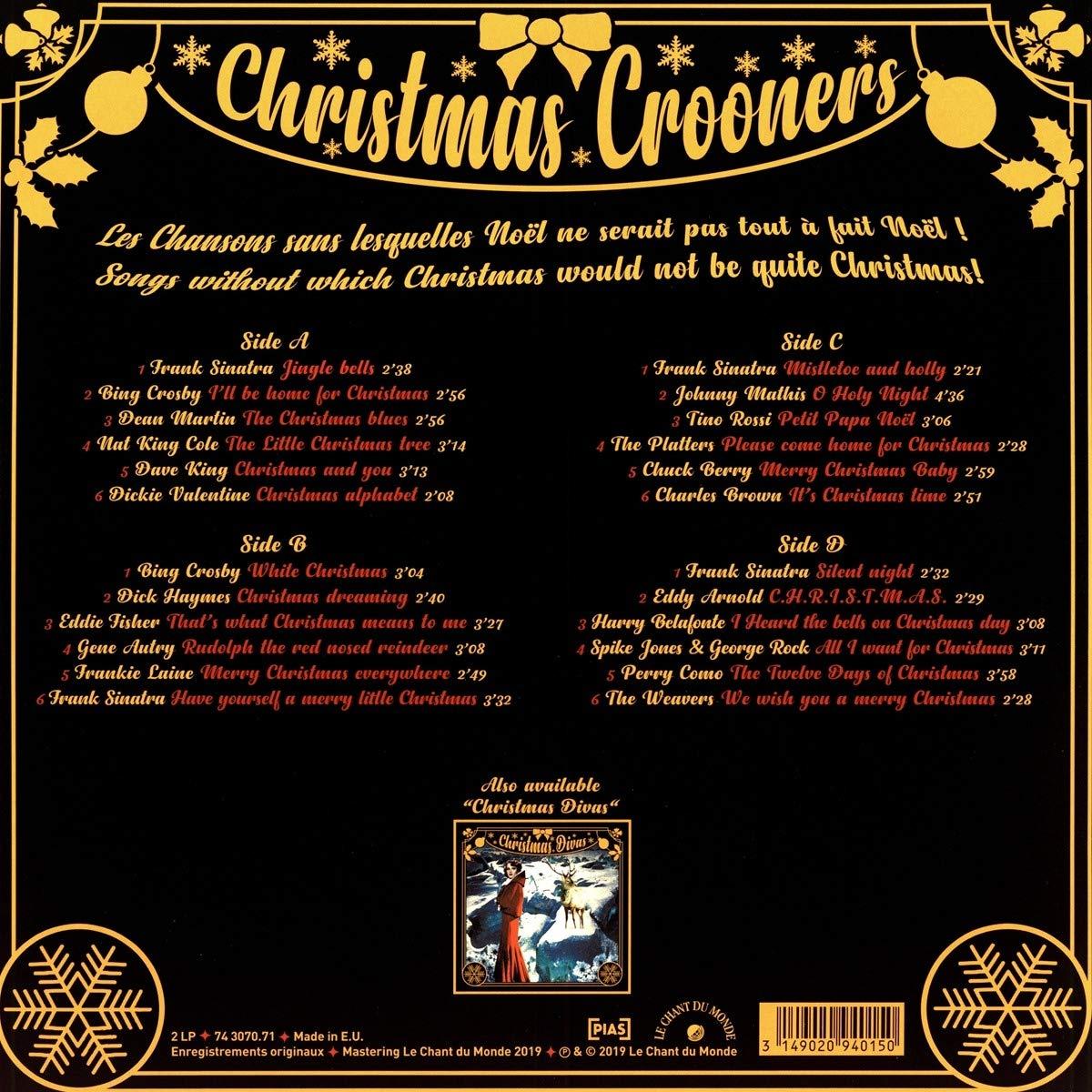 Various Artists Christmas Crooners Amazon Com Music