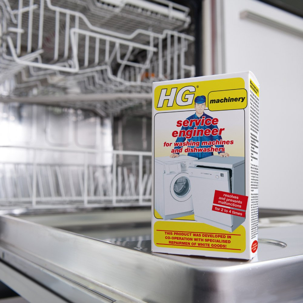 HG service engineer for washing machines and dishwashers 2 x 100gr - A special cleaner and descaler developed in co-operation with professional repairmen. HG Hagesan (UK) Ltd uk home improvement HGHAG 248020106