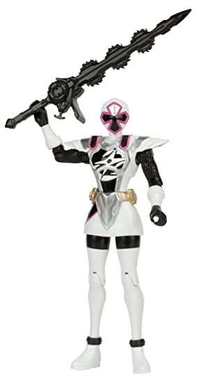 Power Rangers Ninja Steel 5-Inch Ninja Master Mode White ...