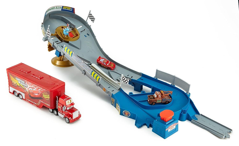 Wire Transfer Import DHD73 Disney//Pixar Cars Piston Cup Speedway Bundle Mattel