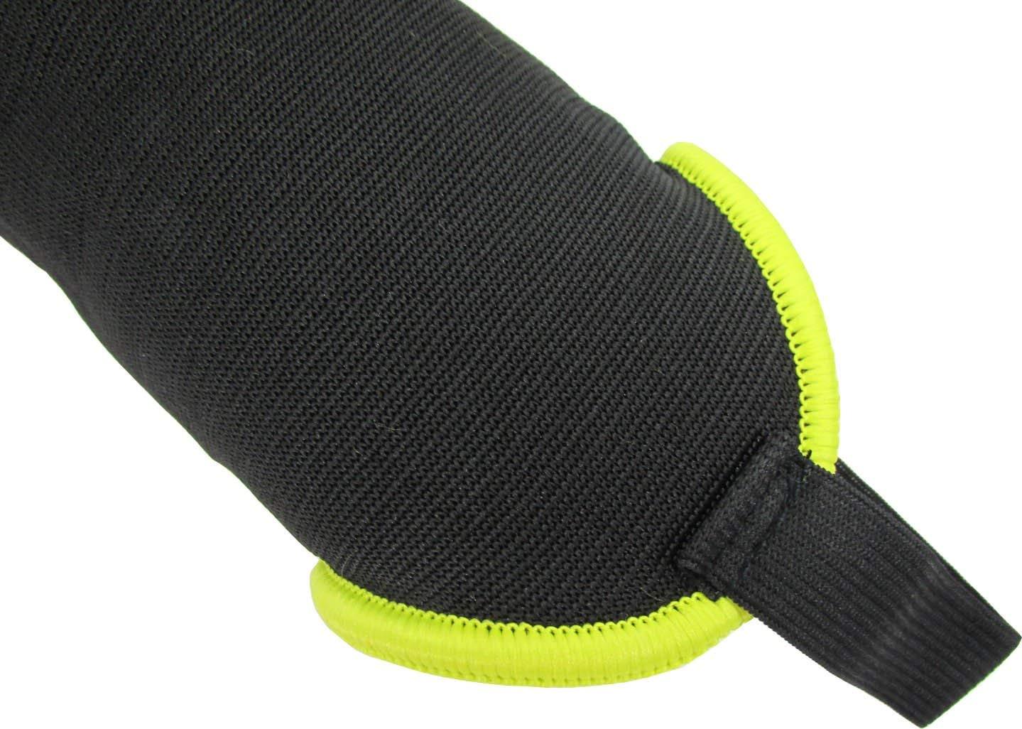 Renewed Vizari Malaga Soccer Shin Guards for Kids Adjustable Straps Soccer Gear for Boys Girls Protective Soccer Equipment