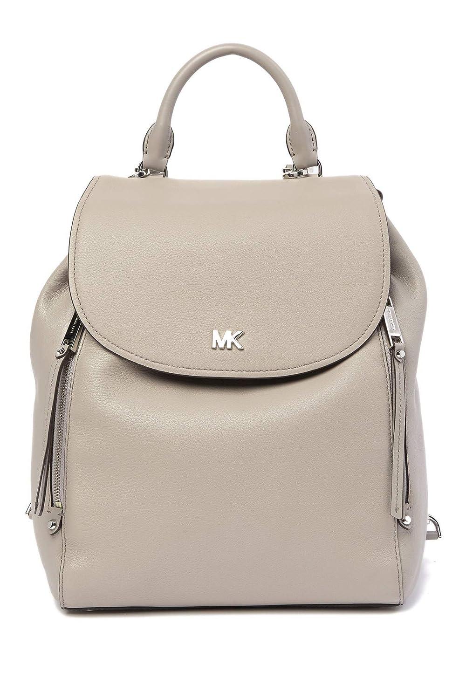 (マイケル コース) Michael Michael Kors Women`s Evie Medium Pebbled Leather Backpack レディースEvieミディアムペブルレザーバックパック(並行輸入品) One Size PEARL GREY B07MX5MHS1
