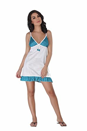 Fame India Baby Doll Night Dress Short Length Free Size Sexy Honeymoon Lingerie For Women