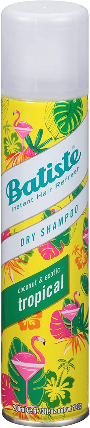 Batiste Tropical Coconut & Exotic Dry Shampoo Champú - 200 ml