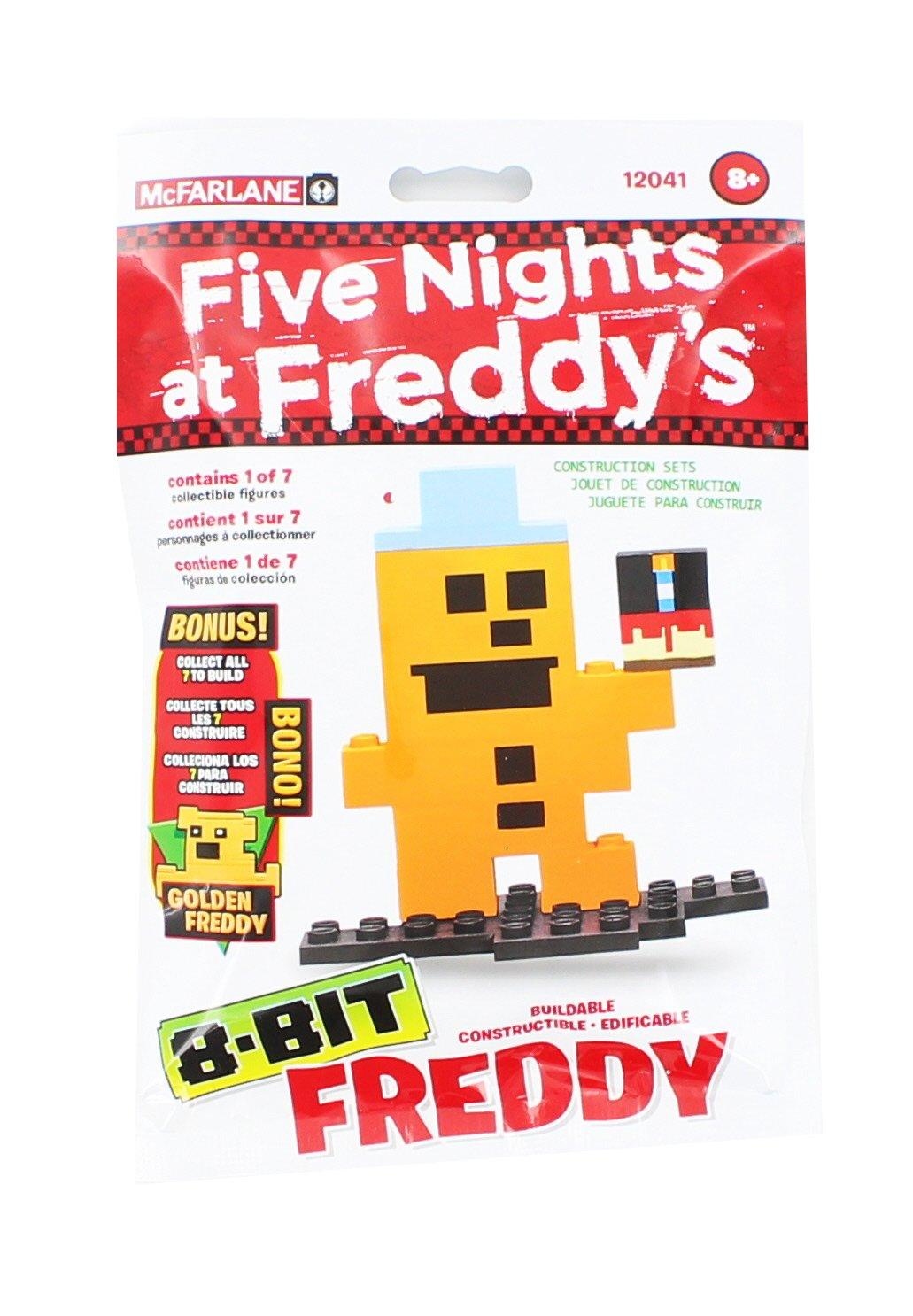 McFarlane Toys Five Nights At Freddy's - Feddy 8-Bit Buidable Figure 12041-7