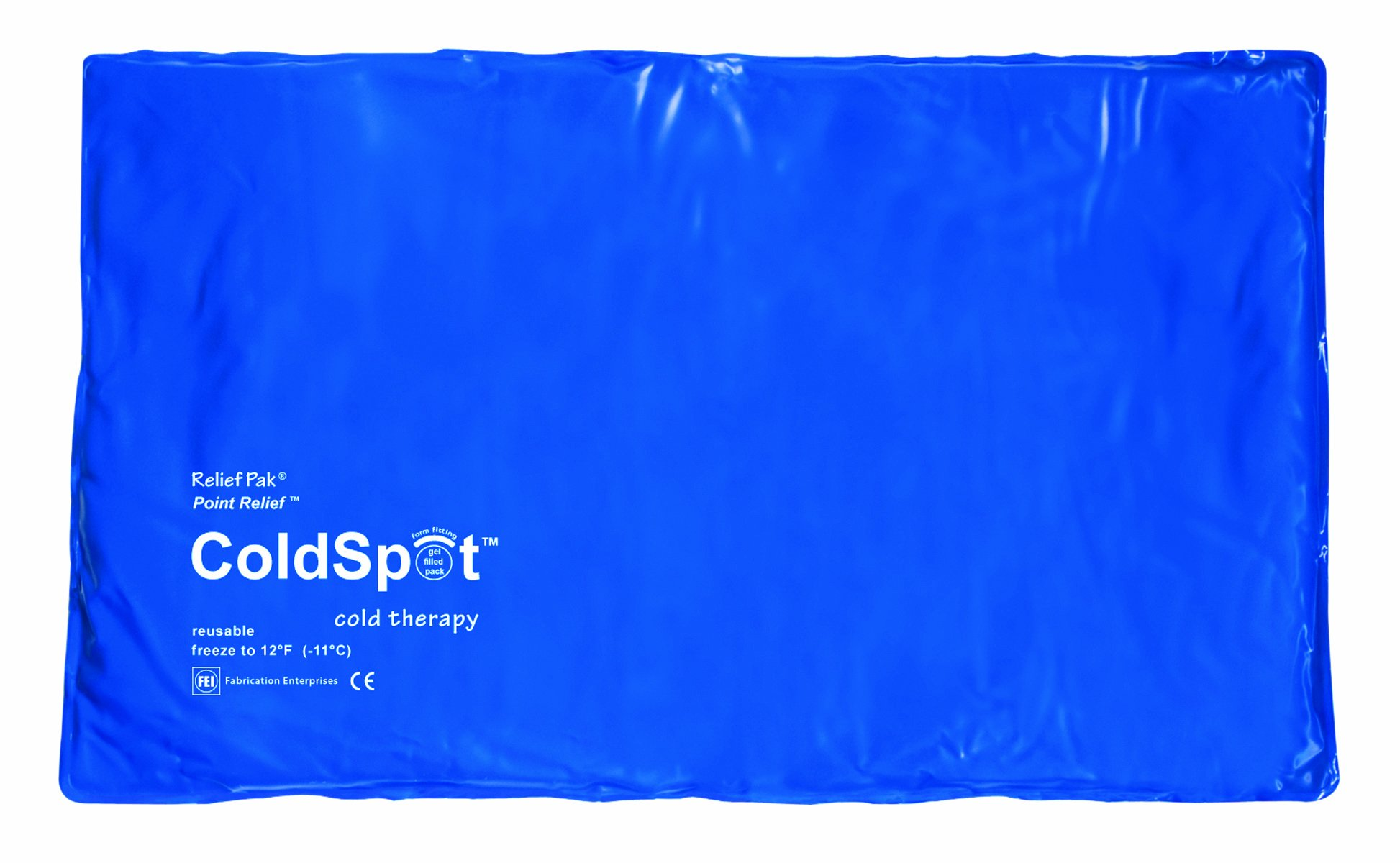 Relief Pak 11-1002-12 Coldspot Blue Vinyl Pack, Oversize, 11'' x 21'' (Pack of 12)