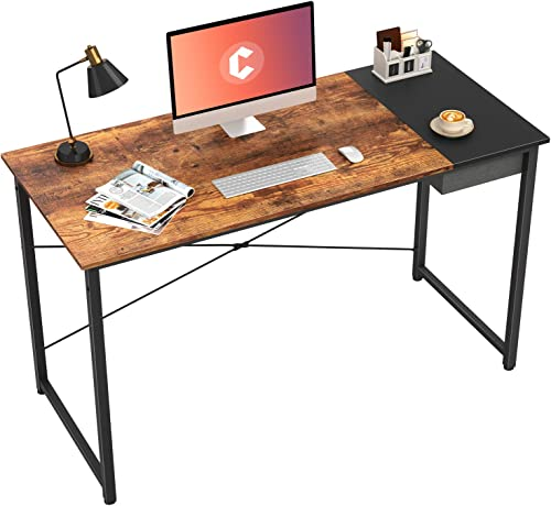 Cubiker Computer Desk 55″ Home Office Writing Study Laptop Table