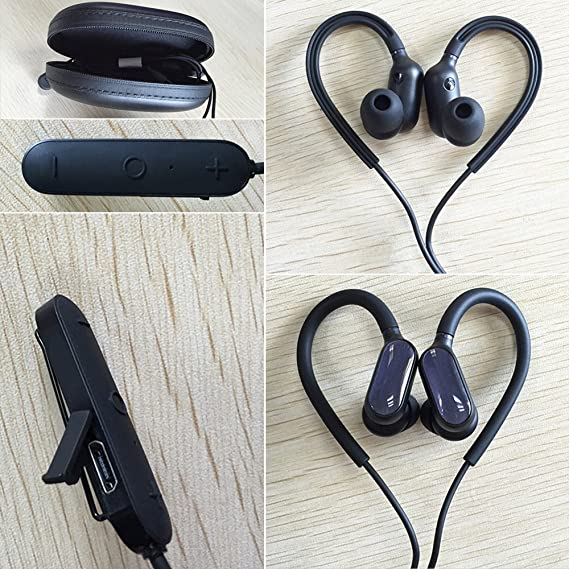 f7e96eb8ebe Image Unavailable. Image not available for. Color: Xiaomi Wireless Sports  Bluetooth Headphones ...