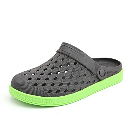 Garden Clogs Shoes Water Shoes Summer New Men's and Women's Breathable Casual Flat-bottomed Sandals Shoes