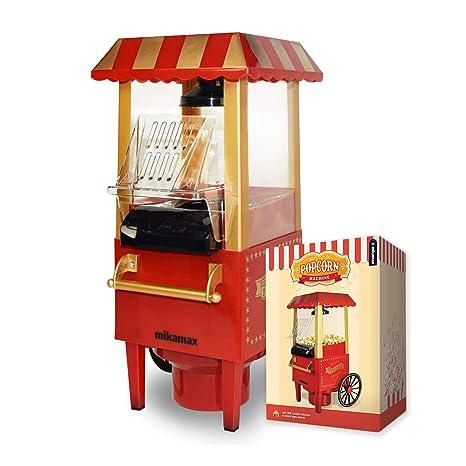 mikamax - Popcorn Machine - Retro Palomitero Pop Corn Maker ...