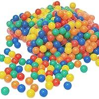 LittleTom 100 Baby ballenbak ballen - 6cm ballenbad speelballen voor kinderen vanaf 0 jaar