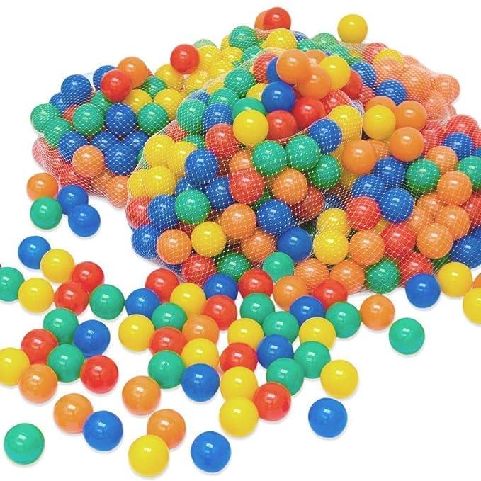23 opinioni per LittleTom 100 Palline colorate Ø 6 cm di diametro | palline di plastica gioco