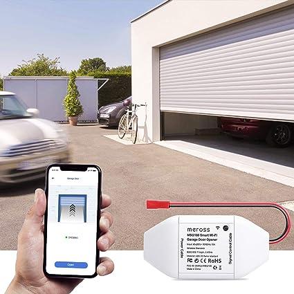 Meross Smart Garage Door Opener Kit Remote Control Existing Garage