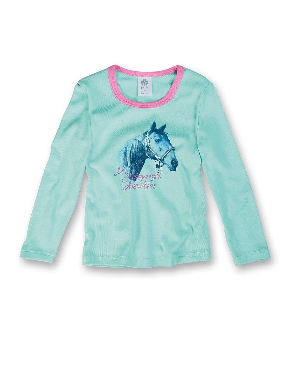 Sanetta Mädchen Unterhemd, Tierdruck 332565