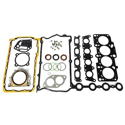 Amazon.com: Fit For Audi & VW 1.8T 20V Engine Cylinder Head Gasket Set 06A198012A: Car Electronics