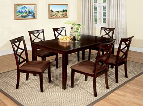Original 7 Pc. Dining Table Set Transitional Style