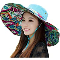 Flyfish Sun Hat, Flower Bridmed Sun Hat Sombreros