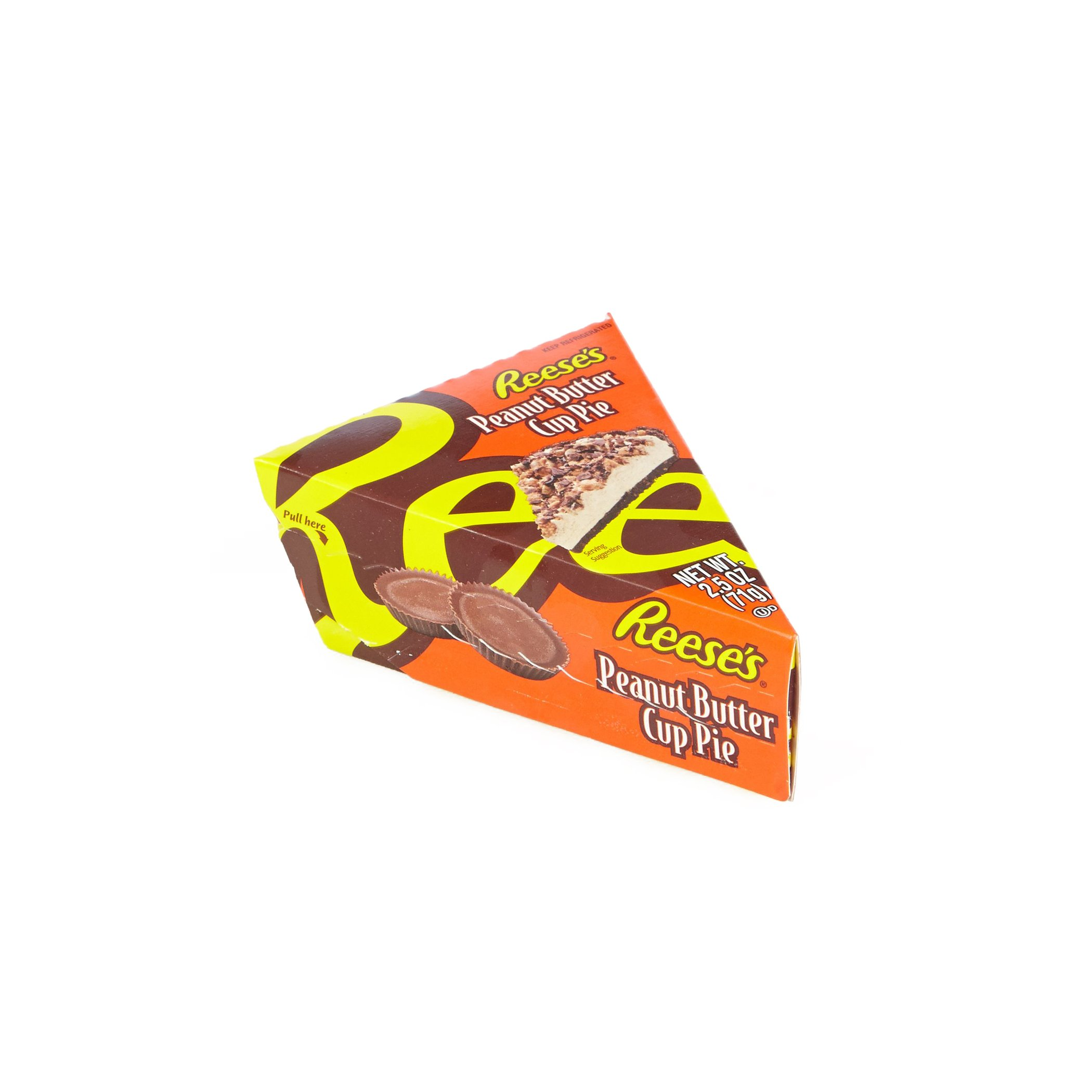Reese's Peanut Butter Cup Pie Slice, 2.5 oz., (Pack of 24) by Reese's