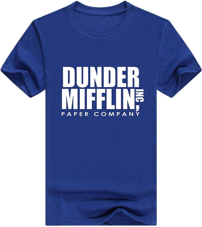 Llynice Dunder Mifflin Paper Inc T-Shirt The Office T-Shirts Classic