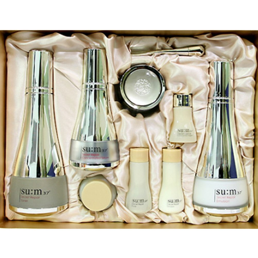 [su:m37/スム37°] SUM37 Secret Repair 3pcs Special Skincare Set/シークレットリペア3種セット+[Sample Gift](海外直送品) B07D2G4CJM