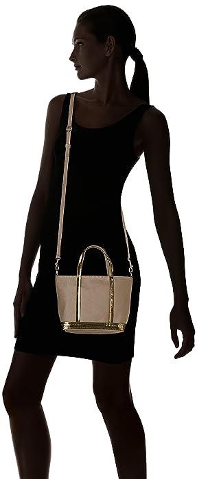 5029f5ab85 Amazon.com: Vanessa Bruno Baby Cabas Coton Et Paillettes, Women's Tote,  Green (Safari), 9,5x17x26 cm (W x H L): Shoes