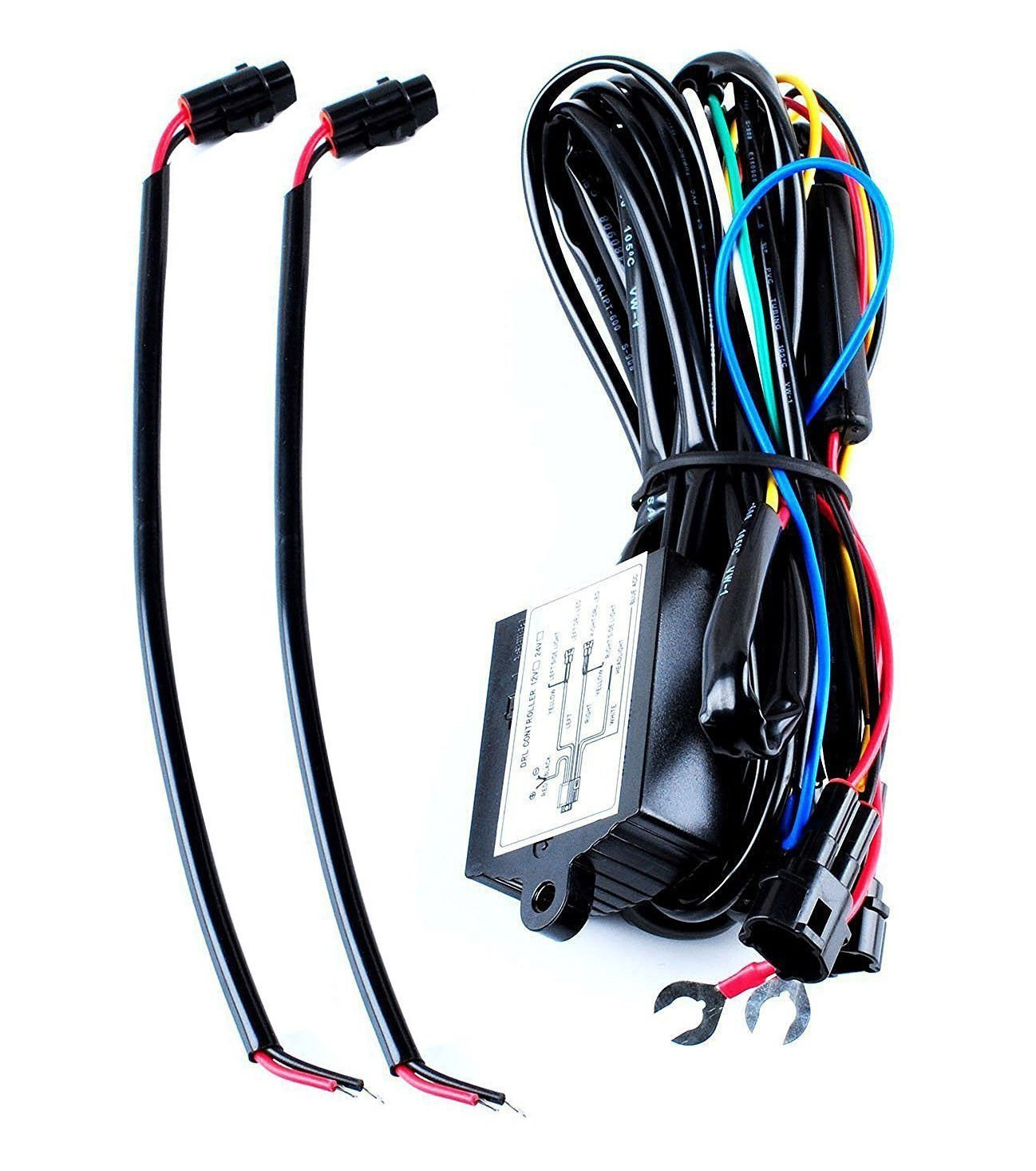 Wadoy Led Daytime Running Light Drl Relay Harness Automatic On Off Wiring Lights Free Download Diagrams Pictures Control Car Motorbike