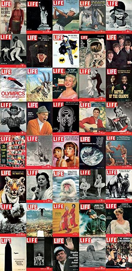 Life Magazine Covers Set Of 3 Photo Wallpaperdoor Poster